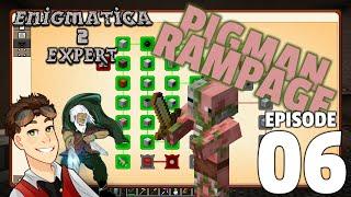Enigmatica 2 Expert: Episode 6 - PIGMAN RAMPAGE!