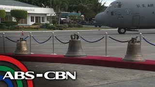 Balangiga Bells back in Philippines after 117 years