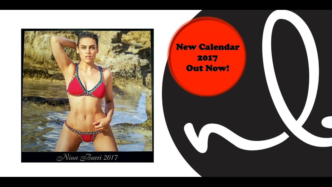 Nina Burri presents new  Photo Calendar 2017