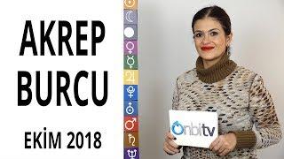 Akrep Burcu Ekim 2018 Astroloji