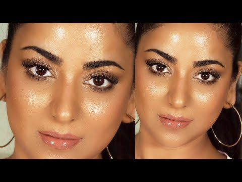 """REVERSE"" MAKEUP for a Natural Glowy No Makeup Makeup Look"