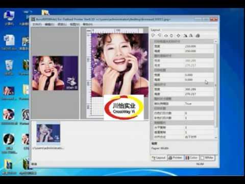 UV printer Partner Rip software study Video