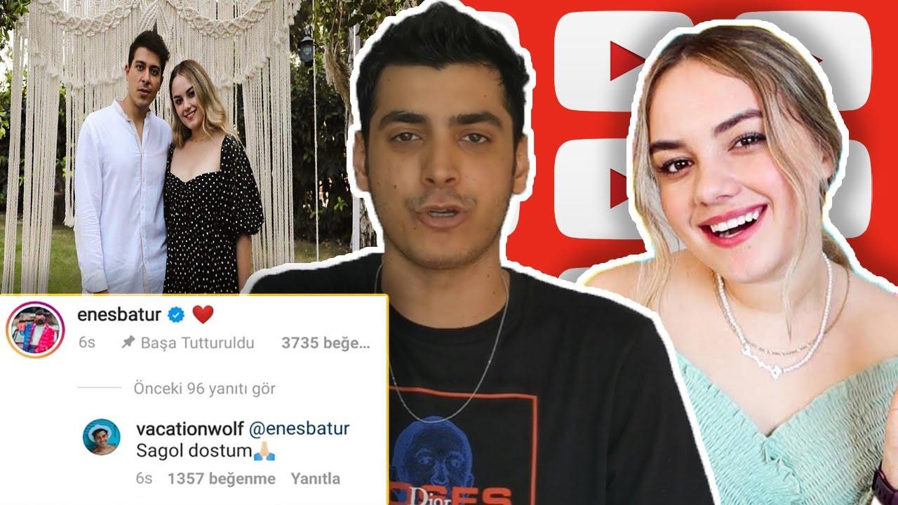 Başak Karahan Dimağ Paylaşımı ve Enes Batur'un Tepkisi !