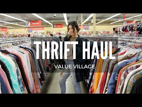 THRIFT HAUL: Value Village | 2.0