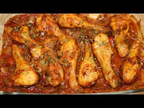 cuisse-de-poulet-en-sauce-facile-(cuisine-rapide)