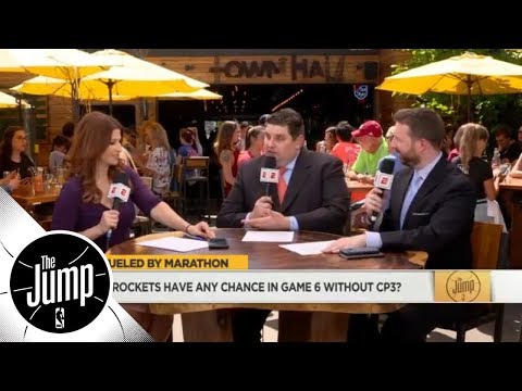 Chris Paul injury could be 'difference' between him winning or losing NBA title | The Jump | ESPN