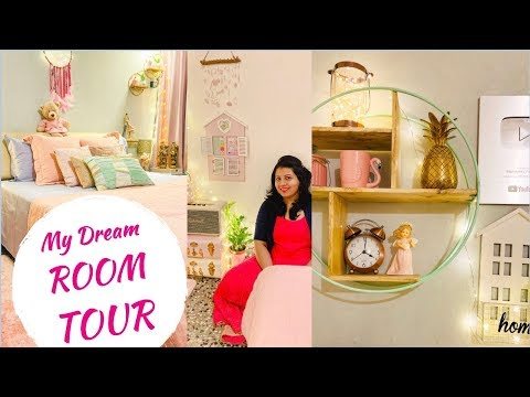 My Dream Room Tour | Indian Small Room Organization, Makeover & Home Decor Ideas | Diwali 2019