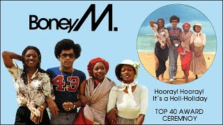 BONEY M. TOP 40 AWARD CEREMONY (3/5/1979)