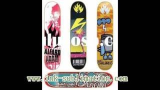 скейтборд сублимации с Сублимационная бумага и чернила сублимации(, 2016-07-22T06:42:06.000Z)