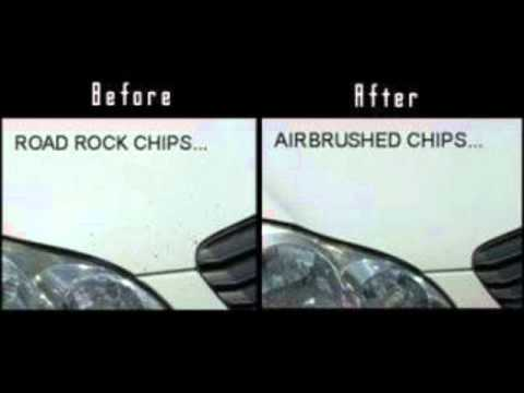 Repairing Small Chips In Car Paint