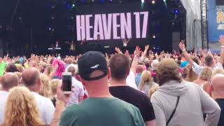 Heaven 17 Temptation Let's Rock Scotland 2018