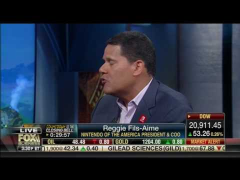 Reggie talks switch and his wild breath on Fox Business