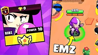 Bibi vs EMZ Triple Kills Brawl Stars Funny Moments & Fails & Glitches