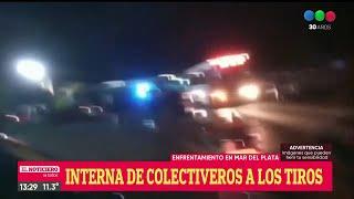 COLECTIVEROS A LOS TIROS: grave enfrentamiento en una interna gremial - El Noti de la Gente