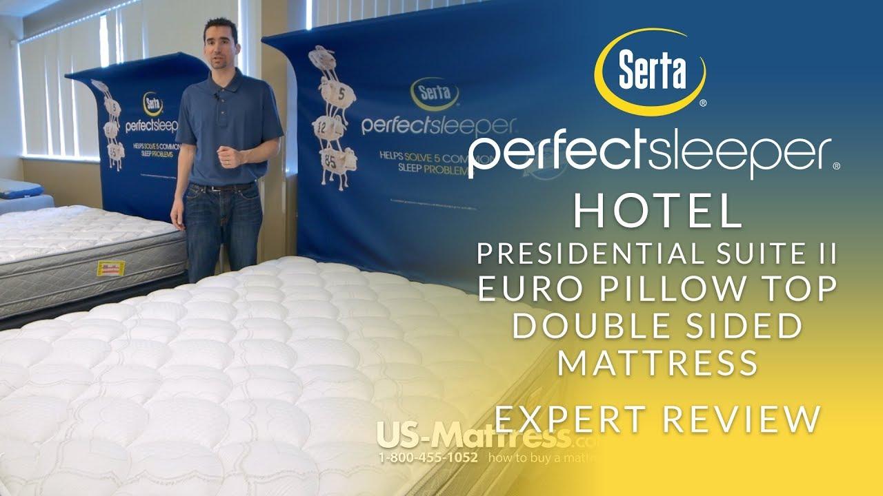 Serta Perfect Sleeper Hotel Presidential Suite Ii Euro