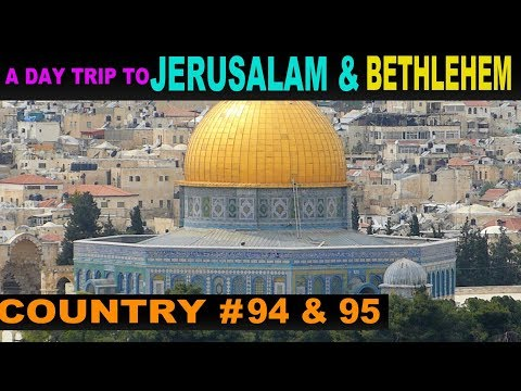 A Tourist's Guide to Jerusalem and Bethlehem