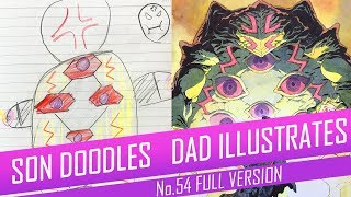 DRAWING with my kids - ANGRY TURTLE [FULL VERSION] No.54