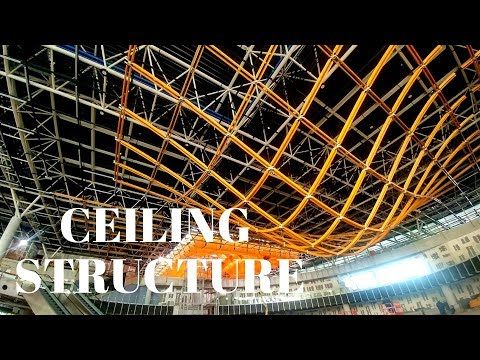 Glulam structure pt4. - Assembling hanging ceiling structure