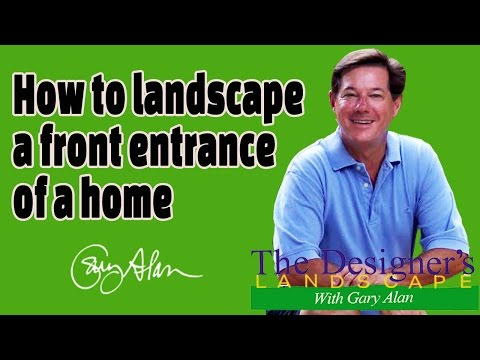 How to Landscape a Front Entrance of a Home Designers Landscape#710