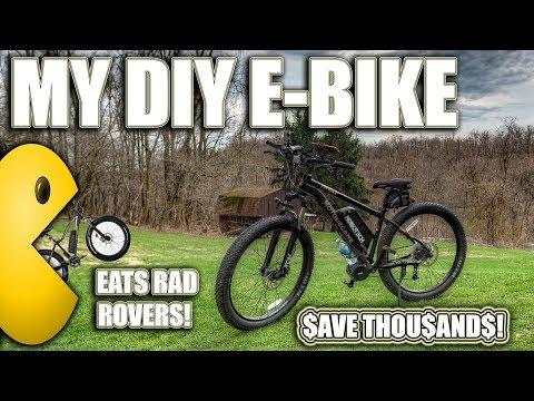DIY ELECTRIC BIKE REVIEW! LUNA CYCLE 36 MPH 1500 WATT BBSHD MID DRIVE E-BIKE! MOVE OVER RAD ROVER!
