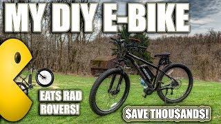 DIY FAST CHEAP ELECTRIC BIKE REVIEW! LUNA CYCLE 1500 WATT BBSHD MID DRIVE E-BIKE BEATS RAD ROVER!