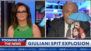 Rudy Giuliani spit geyser explodes on Fox Business