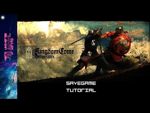 Kingdom Come Deliverance - Immer Speichern HowTo ☬ SaveGame Mod Tutorial