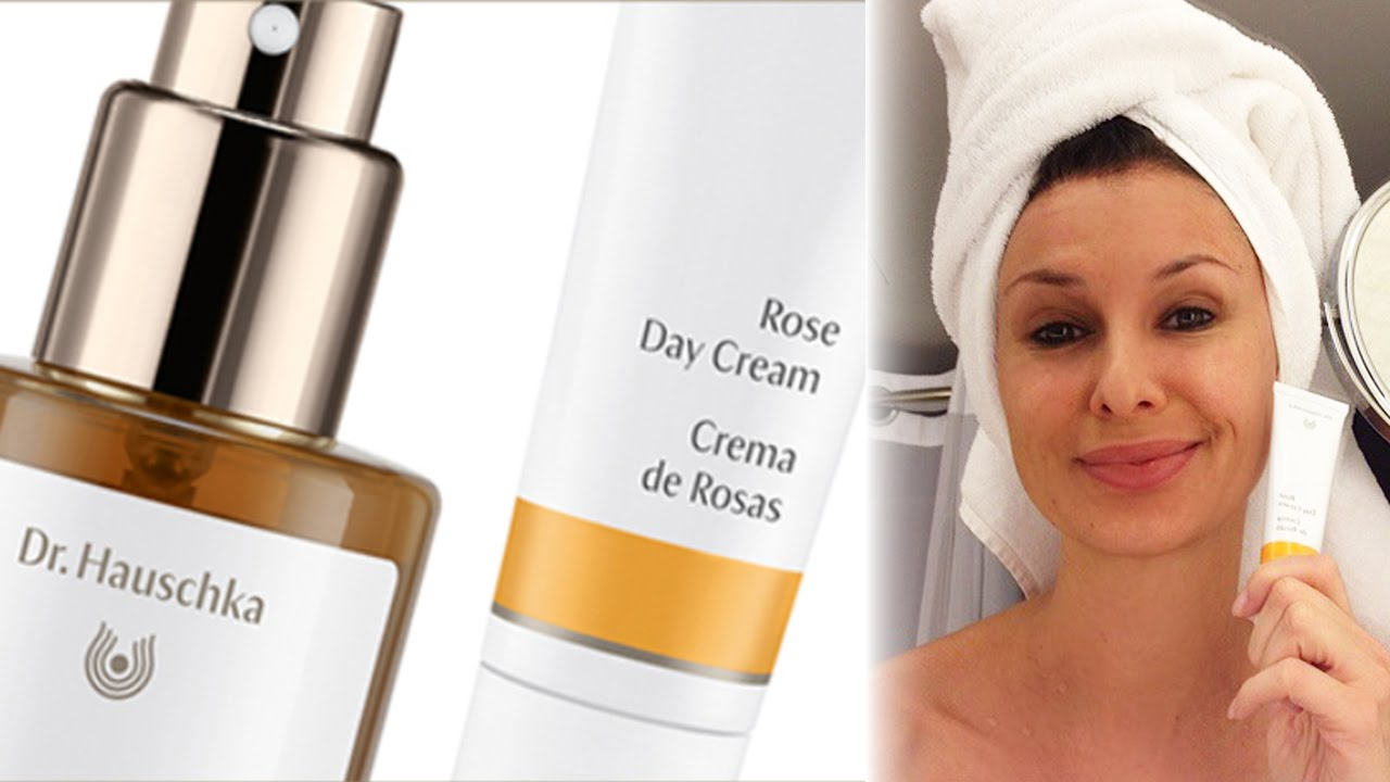 Docteur Ochka organic skincare with dr hauschka at the natural products expo