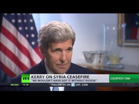 'We wouldn't have got it without Russia' – Kerry on Syria ceasefire