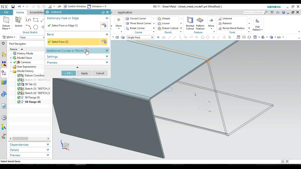NX-Sheetmetal- Form tool complete HINDI|URDU - YouTube