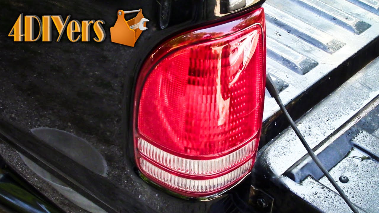 How to Polish Faded, Hazy, or Scratched Tail Lights