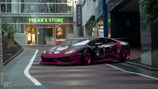 欅坂46 守屋茜 x Lamborghini Huracan - She Devil (GT Sport)