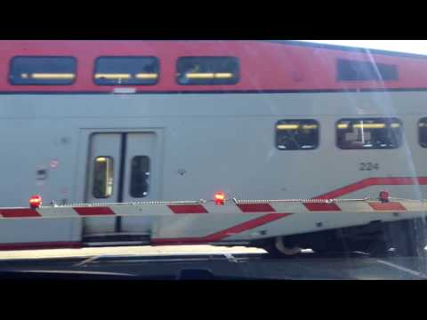 A mix of trains at Gilroy, Morgan Hill and Menlo Park on July 18 and 19 2017