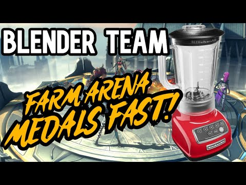 Blender Team Comprehensive Guide - Fastest Way to Farm Gold Medals in Arena! [Raid: Shadow Legends]