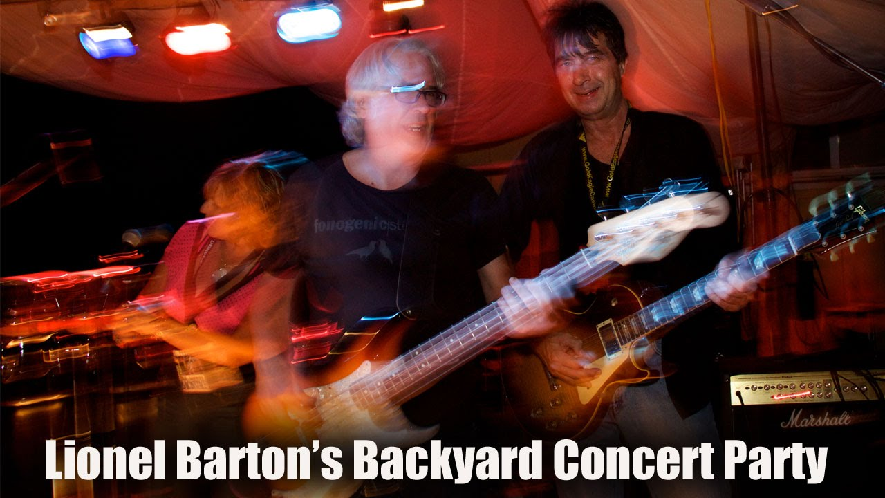the story of lionel barton u0027s backyard concert party youtube