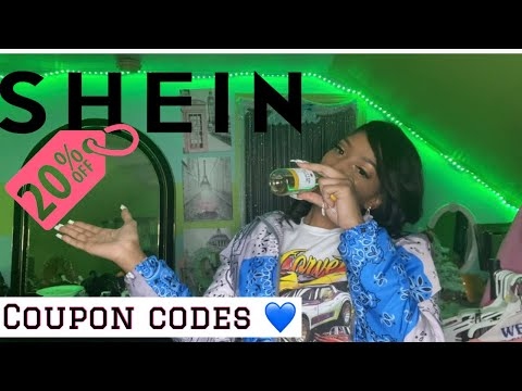 Reeka's Vlogs: Shein Coupon codes | 10%-20% off 2021 new & Working 💙✨