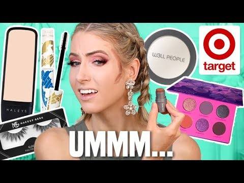 FULL FACE TESTING INDIE/SMALL BRANDS FROM TARGET... thumbnail