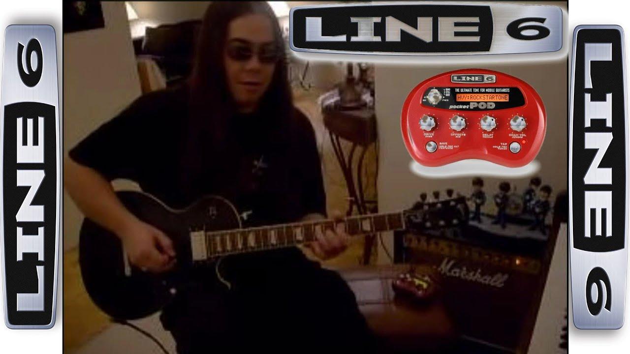 Line 6 Pocket Pod Demo Youtube