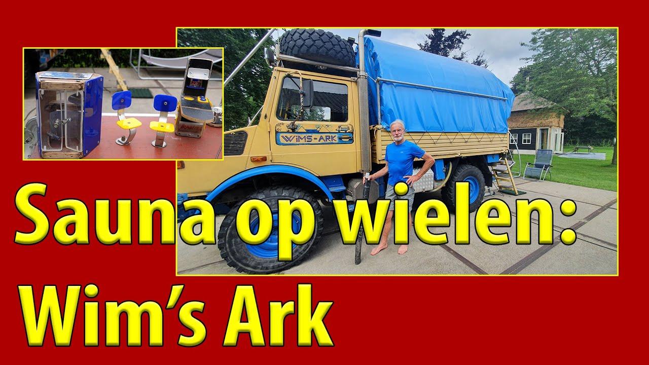 Camper TV 237 Sauna op wielen: Wim's Ark