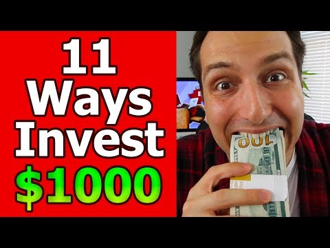 11 Fool-Proof Ways to Invest $1,000 to $10,000? LIVE Q+A