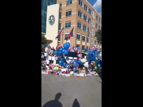 Dallas PD Memorial for fallen officers