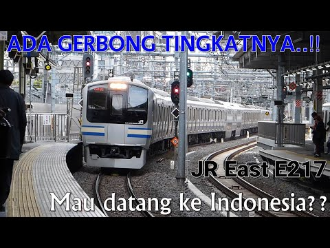 KRL JR East Seri E217 & E231 Di Stasiun Chiba | JR East E217 & E231 Series EMU