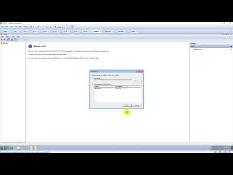 Configure To Manage DHCP On Windows 7