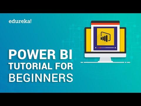 Power BI Tutorial For Beginners | Introduction to Power BI | Power BI Training | Edureka