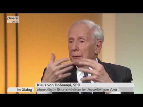 was meinen siehst Flüchtlinge anders Im Dialog   mit Klaus von Dohnanyi SPD vom 12 02 2016