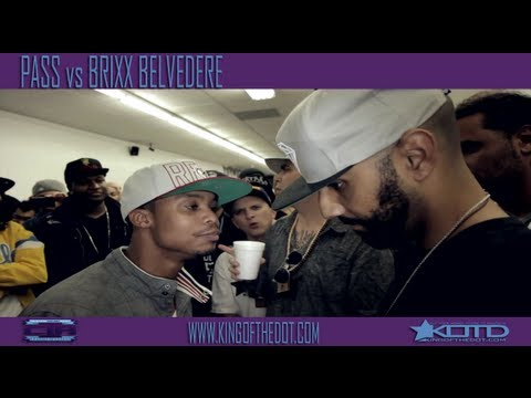 KOTD - Rap Battle - Pass vs Brixx Belvedere