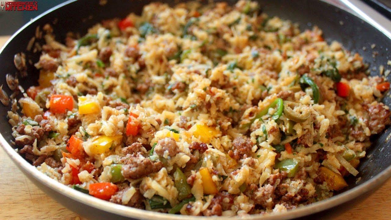 Chicken And Riced Cauliflower Recipes