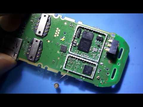 Nokia 107 Mic Ways طريقة اصلاح عطل مايك نوكيا