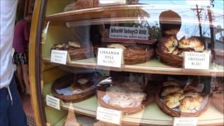 Индия Влог 104. German Bakery - Обзор лучших сладостей и тортов в Арамболь Гоа. Чиз кейк и арбуз