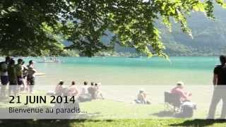 Lac d'Aiguebelette : WELCOME TO PARADISE
